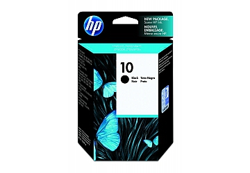 Cartucho Inkjet HP C4844A (#10) negro, compatible con Business InkJet 1100, 1200d, 1200dtwn, 2000, 2200, 2200SE, 2200XI, 2230, 2250, 2250TN, 2280, 2280TN, 2500, 2600, 2600DN, 3000, 3000N, 3000DTN, DesignJet 70 printer, 100, 110, 100 plus, 110 plus, 500, 800, 2000C, 2500C, DesignJet Copier CC800PS, DesignJet Colorpro CAD, GA, Color InkJet CP1700, CP1700D, CP1700PS, OfficeJet Pro K850, 9110, original, rendimiento 1430 páginas aprox., contenido 69 ml.