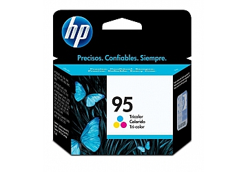 Cartucho Inkjet HP C8766WL (#95) color, compatible con DeskJet 5740, 570XI, 6540, 6540DT, 6540XI, 6840, 6840DT, 6840XI, 9800, 9800d, PhotoSmart 325, 325V, 325XI, 329, 335, 375, 375B, 375V, 385, 422, 2575 all in one, 2610, 2610V, 2610XI, 2710, 2710XI, 8150, 8150V, 8150XI, 8450, 8450XI, C4180, D5060, D5063, D5065, D5069, OfficeJet 6210, 6210V, 6210XI, 7110, 7130, 7140xi, d125xi, d135, d145, d155xi, 7310, 7310XI, 7410, 7410XI, DeskJet PSC 1610, 1610V, 1610XI, 2350 all in one, 2355, 2355V, 2355XI, Color Inkjet Printer cp1160 series, Digital Copier Printer 610, original,  rendimiento 260 páginas aprox., contenido 7 ml.