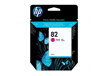 Cartucho Inkjet HP C4912A (#82) magenta, compatible con DesignJet 500, 500 ps, 800, 800 ps, DesignJet Copier CC800PS, original.
