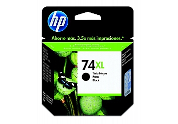 Cartucho Inkjet HP CB336WL (#74XL) color large, compatible con DeskJet D4260, PhotoSmart C4240, C4250, C4280, C4285, C4345, C4380, C4385, C4440, C4450, C4480, C5240, C5250, C5280, C5580, D4360, D5345, D5360, OfficeJet J5750, J5780, J6450, J6480, original,  contenido 12 ml.