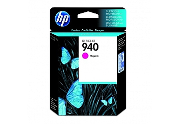 Cartucho Inkjet HP C4904AL (#940) magenta, compatible con OfficeJet Pro 8000 Printer, Pro 8500, original