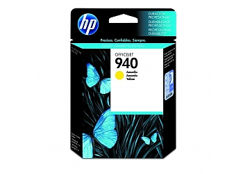 Cartucho Inkjet HP C4905AL (#940) amarillo, compatible con OfficeJet Pro 8000 Printer, Pro 8500, original