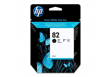 Cartucho Inkjet HP CH565A original (#82)negro, compatible con DesignJet 500, 500 ps, 800, 800 ps, DesignJet Copier CC800PS, original, contenido 69 ml