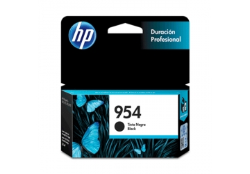Cartucho Inkjet HP L0S59AL (#954) negro, compatible con OfficeJet Pro 7740, OfficeJet Pro 8210, OfficeJet Pro 8710, OfficeJet Pro 8720, OfficeJet Pro 8730, OfficeJet Pro 8740, original