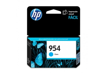 Cartucho Inkjet HP L0S50AL (#954) cyan, compatible con OfficeJet Pro 7740, OfficeJet Pro 8210, OfficeJet Pro 8710, OfficeJet Pro 8720, OfficeJet Pro 8730, OfficeJet Pro 8740, original