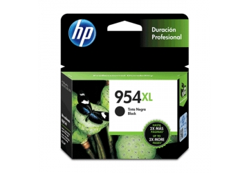 Cartucho Inkjet HP L0S71AL (#954XL) negro, compatible con OfficeJet Pro 7740, OfficeJet Pro 8210, OfficeJet Pro 8710, OfficeJet Pro 8720, OfficeJet Pro 8730, OfficeJet Pro 8740, original