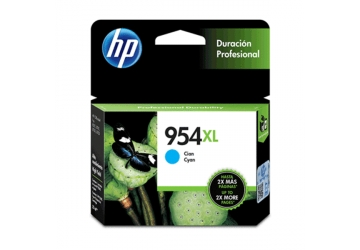 Cartucho Inkjet HP L0S62AL (#954XL) cyan, compatible con OfficeJet Pro 7740, OfficeJet Pro 8210, OfficeJet Pro 8710, OfficeJet Pro 8720, OfficeJet Pro 8730, OfficeJet Pro 8740, original