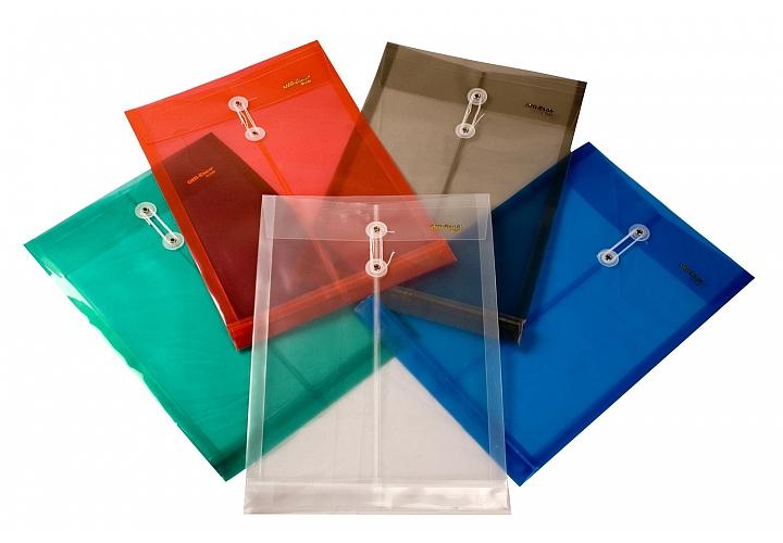 Sobre plastico cierre con hilo oficio translucido en planetoffice - Fundas de plastico para tarjetas ...