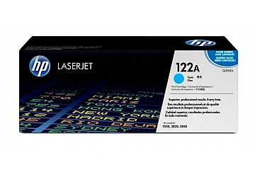 Toner HP Q3961A, compatible con LaserJet Color 2550 serie/2800/2820 serie/2830/2840 serie, original, Color cyan, rendimiento 4000 páginas