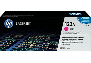 Toner HP Q3973A, compatible con LaserJet Color 2550 serie/2800/2820 serie/2830/2840 serie, original, Color magenta, rendimiento 2000 páginas