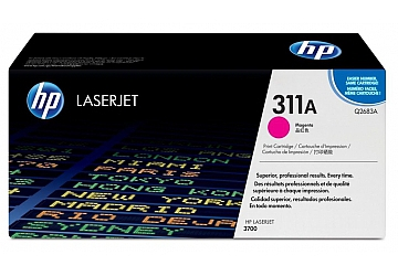 Toner HP Q2683A, compatible con LaserJet Color 3700 (serie), original, Color magenta, rendimiento 6000 páginas