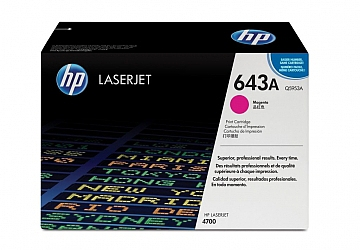 Toner HP Q5953A, compatible con LaserJet Color 4700 (serie), original, Color magenta, rendimiento 10000 páginas