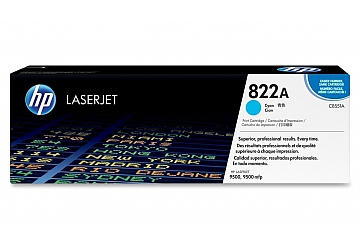 Toner HP C8551A, compatible con LaserJet Color 9500 (serie), original, Color cyan, rendimiento 25000 páginas