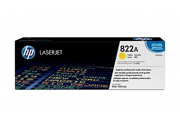 Toner HP C8552A, compatible con LaserJet Color 9500 serie, original, Color amarillo, rendimiento 25000 páginas